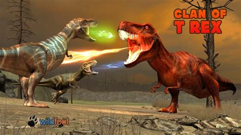 clan   rex  wild foot games android ios