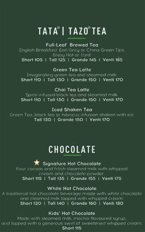 Check out the starbucks menu, our quick breakfast ideas and nutritional information. Starbucks Coffee, Colaba, South Mumbai, Mumbai Restaurants, Menu and Reviews | Eazydiner