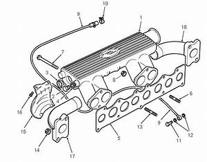 Land Rover Parts - Inlet  U0026 Exhaust Manifold