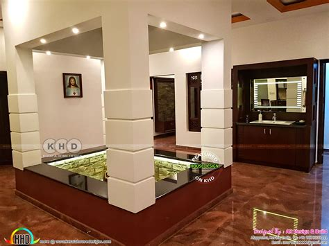 finished  floor home  finished interior kerala home design  floor plans