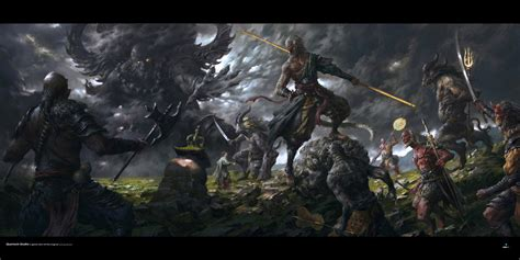 stunning medieval fantasy art   qi geektyrant