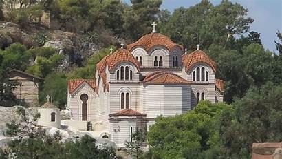 Churches Monasteries Athens