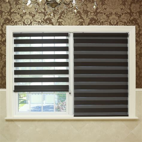 Blackout Window Blinds by Best Home Fashion Inc Premium Blackout Duo Roller Shade