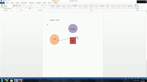 microsoft word genogram template genogram eco map tutorial microsoft word youtube