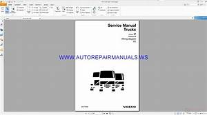 Volvo Fe Trucks Wiring Diagrams Service Manual 20177906