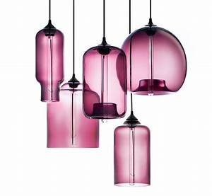 Niche modern plum pendant lights featured in martha stewart living