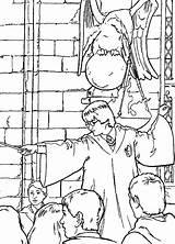 Potter Harry Chamber Secrets Coloring Fun Pages Pinu Zdroj sketch template