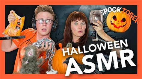 Halloween Asmr Spooky Sounds (feat Mamrie Hart) Youtube