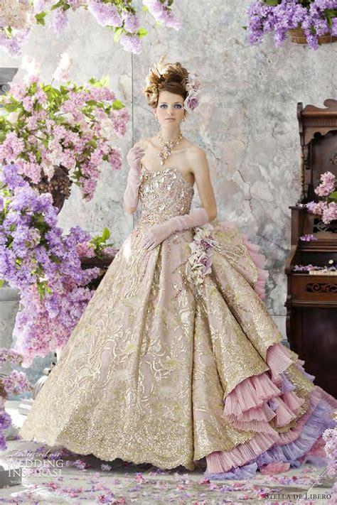 stella de libero wedding dresses  lilac bridal
