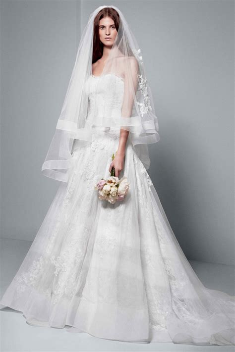 White By Vera Wang Wedding Dresses Modwedding