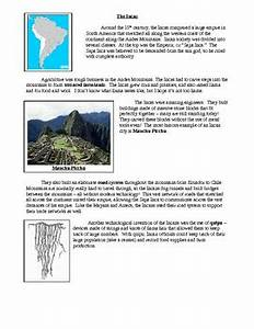 Maya Aztec And Inca Civilizations Chart Maya Aztecs And Inca Lesson Plan Article Chart By Dan