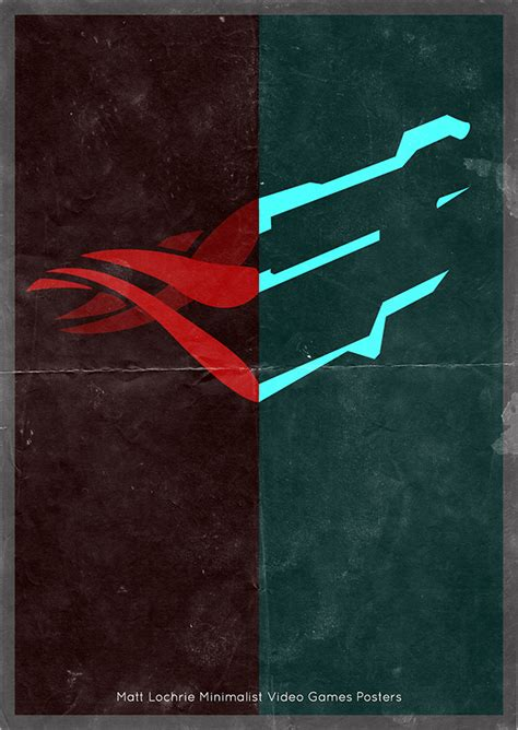 Minimalist Video Game Posters Version 2 On Pantone Canvas