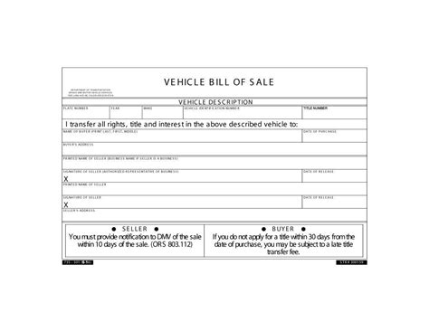 free bill of sale template 46 fee printable bill of sale templates car boat gun