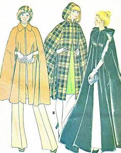 1970s Womens Cape Pattern Mccalls 4276 Day Or By Paneenjerez   12 00