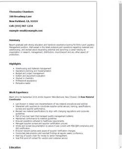 Resume Format For Logistics Manager by Professional Entry Level Logistics Management Templates To