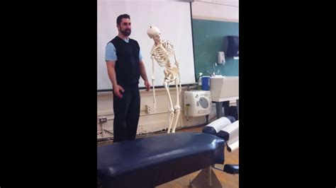 How To Assess Low Back Pain With Kemps Test Youtube