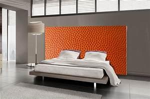 Photo Tete De Lit : t te de lit cuir textilvision ~ Dallasstarsshop.com Idées de Décoration