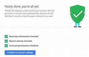 Deal  Spend 2 Minutes Completing Google U0026 39 S Security