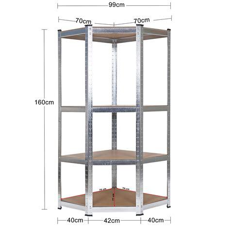 scaffale angolare scaffale angolare per carichi pesanti scaffalatura a