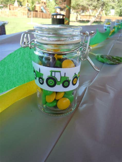 John Deere Birthday Favors Rhonda Pinterest Favors