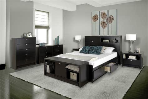 Series 9 Designer Collection in Black   Modern   Bedroom
