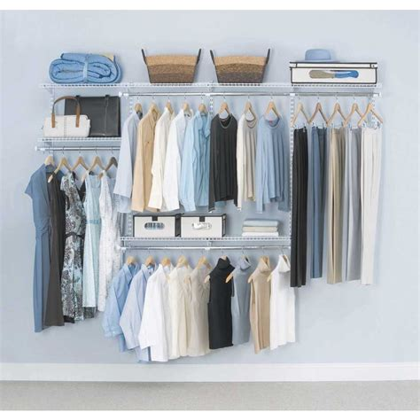 hanging l kit lowes closet organizer kit satin chrome lowes closet systems