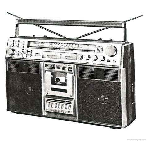 aiwa radio cassette recorder aiwa tpr 990 manual stereo radio cassette recorder