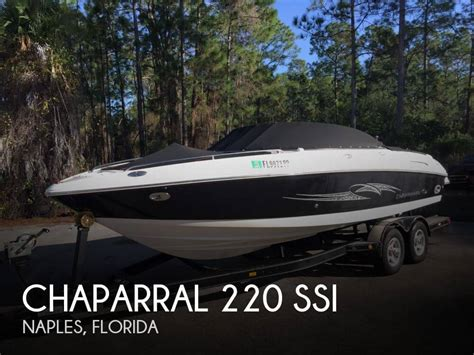 Houseboats For Sale Naples Florida by For Sale Used 2007 Chaparral 220 Ssi In Naples Florida