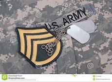 Us Army Uniform Iraq War Period Stock Image Image of