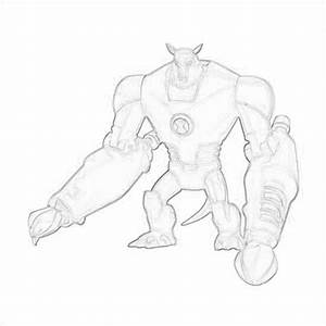 Ben 10: Ultimate Alien images Drawing Of Armodrillo ...