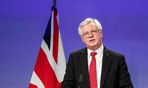 David Davis DEMANDS EU leaders recognise 'significant ...