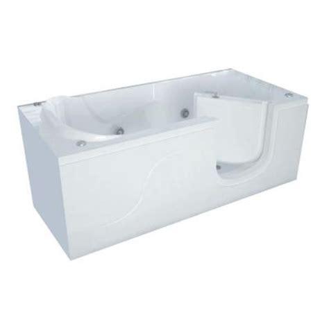 universal tubs 5 ft x 30 in walk in whirlpool tub in