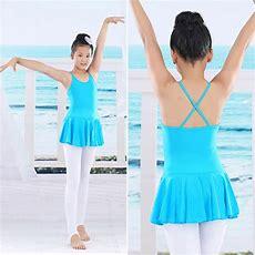 Girls Ballet Leotard Dance Gymnastics Dress Leotard Clothes Ruffled Skirts T39 Ebay