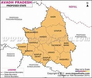 Awadh Map