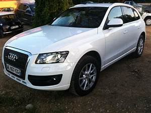 Audi Q5 Blanc : troc echange audi q5 blanc 2 0 tdi 170 stronic ambition luxe sur france ~ Gottalentnigeria.com Avis de Voitures