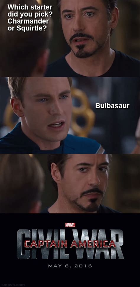 Civil War Memes - image 900997 captain america civil war 4 pane captain america vs iron man know your meme