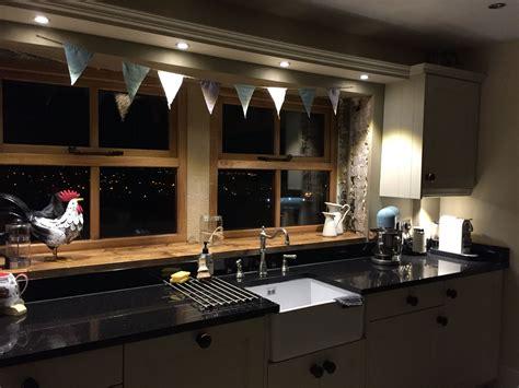 farm kitchen sinks kitchen window in renovating mill farm cottage 3679