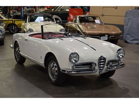 Alfa Romeo Giulietta For Sale by 1956 Alfa Romeo Giulietta For Sale