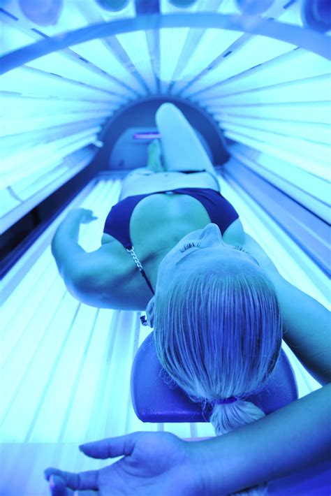 Tanning Bed Dangers by Tanning Beds Premature Aging Skin Cancers Scottsdale