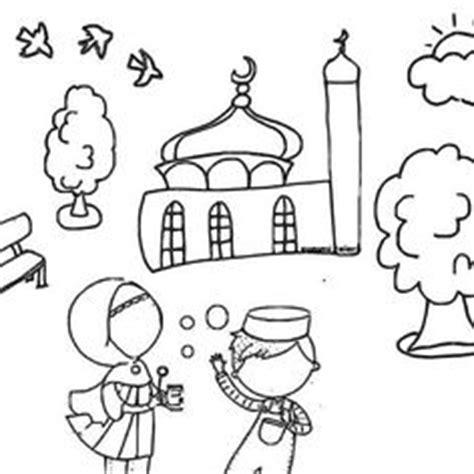 moschee ausmalbild islam pinterest moschee