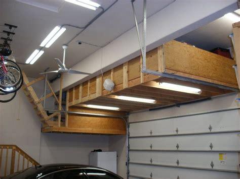 build    garage ceiling storage habitation design