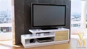 Tv Board Weiß Eiche : tv lowboard unterschrank eiche sonoma wei fernsehschrank tv board fernsehteil ebay ~ Somuchworld.com Haus und Dekorationen
