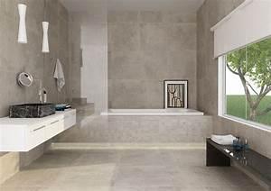 Modele Salle De Bain Carrelage : modele de carrelage de salle de bain gallery of carrelage ~ Premium-room.com Idées de Décoration