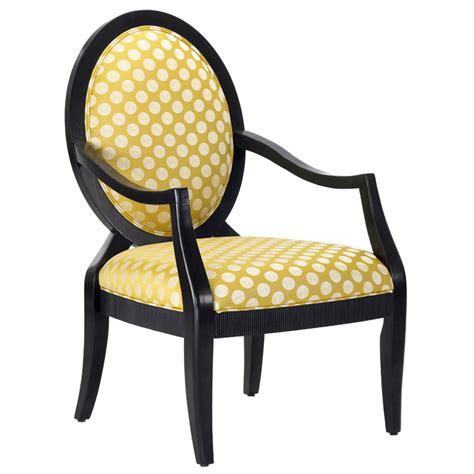 polka dot print accent chair dcg stores
