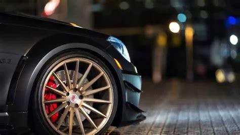 mercedes benz  amg black series  vossen wheels youtube