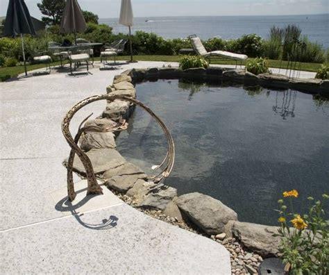 pool pools custom handrail rails railings metal swimming railing steps water bronze elegant handrails accessories outdoor hand iron cool designs