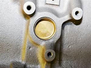 Engine Freeze Plug Leaking