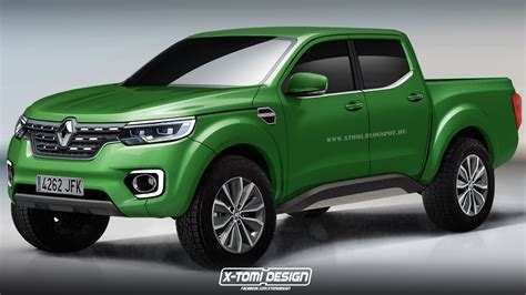 renault alaskan renault alaskan pickup truck rendered in production guise