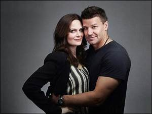 Emily with David Boreanaz at Comic Con 2012 - Emily ...