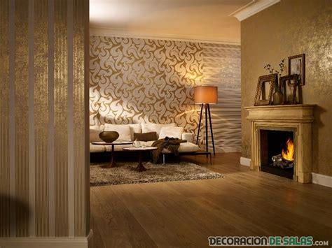 ideas de papel tapiz  decorar tu salon